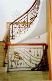 Haohan modificó la barandilla de acero galvanizada australiana europea elegante 11 de la escalera para requisitos particulares