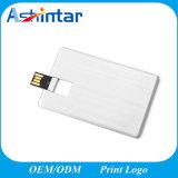 USB Pendrive do giro da vara da memória do USB do cartão de crédito do metal