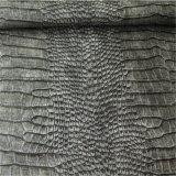 Muebles que hacen la PU de cuero de Synthtic para la base del masaje del sofá