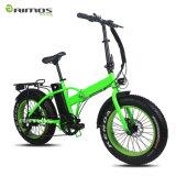 Bicicleta eléctrica de la venta 26inch del motor del neumático gordo de gran alcance caliente de la montaña