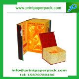 Custom lujo joyas caja de regalo de papel plegable caja del anillo collar de caja de almacenamiento