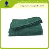 Tela incatramata di tela di canapa verde dell'esercito, tela incatramata del camion della tela di canapa del cotone