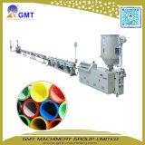 Producto Plástico del Tubo de la Base del Silicio del HDPE Que Saca Haciendo la Línea de la Máquina