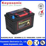 cartón del color de la batería de plomo de la frecuencia intermedia de la batería de coche de 12V 90ah
