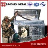 Établissements en aluminium de passage de crabot de cage de boîte à outils de plaque en gros de diamant de constructeur grands