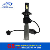 Fanless H4 6500k High Low Beam Automóviles LED de la cabeza de la lámpara 12V-24V LED Kit de faros de coches 30W 3200lm LED Bulb Kit de conversión