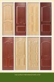 Natürliches Furnier-Blatt gegenübergestellte Form-Tür-Haut MDF-HDF