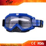 MX flexible de lunettes de motocross en verre de motocyclette d'équipements de protection d'accessoires de moto teinté UV
