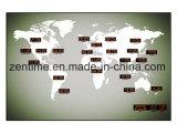 Heet verkoopt Klok van de Muur van de LEIDENE de Digitale Tijd van de Wereld