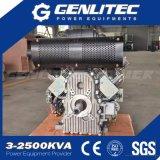 охлаженный воздухом электрический начиная твиновский двигатель дизеля цилиндра 27HP