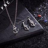 Insiemi dei monili dell'ancoraggio di modo della lega del metallo di disegno semplice di alta qualità