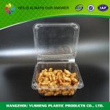 Прозрачной пластиковой Cookie в салоне, упаковка продуктов контейнер