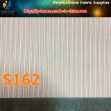 Traje manga de revestimiento de hilo teñido de rayas de tela para prendas de vestir (s162.182)