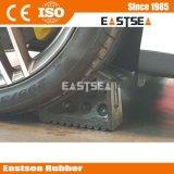 Черный цвет Резиновые колеса автомобиля Чок Блок