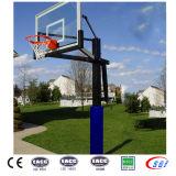 Venta al por mayor ajustable en altura bajo suelo residencial Baloncesto Stand para la calzada del club