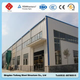 Fácil instalación el bastidor de acero de la fábrica de almacén de construcción