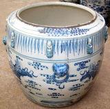 중국 사기그릇 발판 (LS-150)