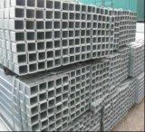 Hohles Kapitel-Quadrat-Stahlrohr des Aufbau-HDG/Vor-Galvanisiertes Stahlgefäß