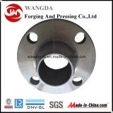 Precisão que faz à máquina flanges forjadas do aço de carbono