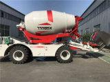 Misturador 3.0cbm concreto Diesel de descarregamento automático aprovado do Ce