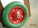 325-8 색깔 PU 거품 바퀴