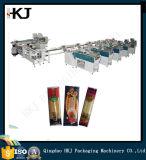 Máquina de empacotamento completa de macarrão com seis pesadores