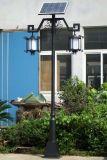 Luces de calle solares del patio al aire libre del LED para el camino del camino del jardín