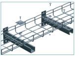 Panier de câbles à mailles métalliques en acier inoxydable (CE, UL, ISO)