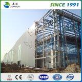 Atelier léger préfabriqué de structure de bâti en acier des prix de la Chine