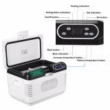 12V/ 24V Dual-Core 12L Mini Portable Car Refrigerator