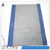 Customized 50kg Saco de farinha de tecidos de PP branco