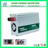 Micro auto inversor portátil da potência do carro 300W (QW-300MUSB)