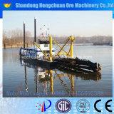 12inch油圧川の砂のカッターの吸引の浚渫船