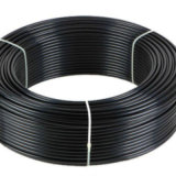 cinc de 12mm*1m m plateado + tubo doble revestido de Bundy de la pared PA12