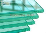 дверь 12mm ясная Toughened стеклянная (для дома здания) стеклянная