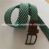 Doblado de aleación de trenzado de Pin y hebilla de cinturón elástico