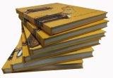 Крышка высокого качества трудная для напечатанной цветастой книги