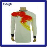 Men's Allover Dragon d'impression Impression T-Shirt à manches longues