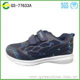 El deporte vendedor caliente del aire del acoplamiento embroma los zapatos de los niños