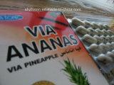 Par l'intermédiaire de l'ananas, par l'intermédiaire de l'ananas amincissant des capsules