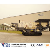 高性能のクローラー移動式砕石機機械