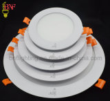 MDS 6W 12W 18W Round and Public garden LED Ceiling Frame Panel Light with LED Indoor Panels