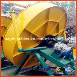 Installation de granulation d'engrais de rebut agricole