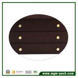 Boîte de rangement en bois décoratif de luxe en bois