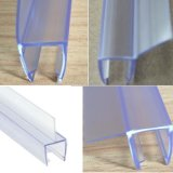 Transparente Belüftung-wasserdichte Streifen für Badezimmer-Glas-Tür