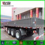 40 piedi del muro laterale di carico del contenitore del camion del rimorchio dell'Tri-Asse del carico di rimorchio semi