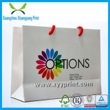 Personnalisé haut Brown Paper Kraft Shopping Bag qualité Logo Imprimer