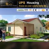 El chalet con dos dormitorios de la estructura de acero planea el apartamento vivo de la familia