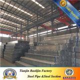 Galvanizar as tubulações de aço ocas de ERW Setion