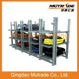 Mutrade mechanischer Pfosten-Parken-Aufzug der Vertiefung-vier